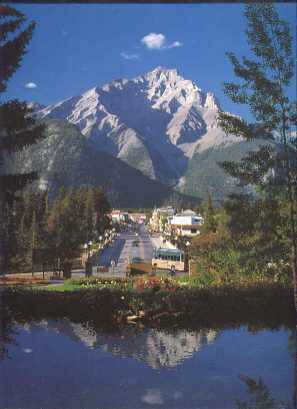 Town of Banff Canada
