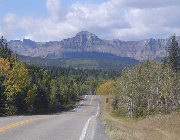 Calgary to Banff Map and Alternative Scenic Directions on