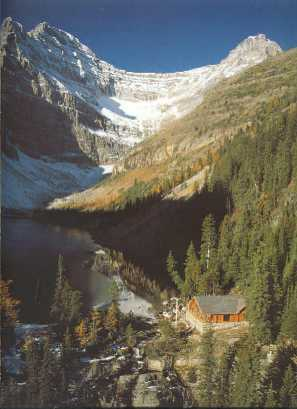 Lake Angnes Teahouse, Lake Louise